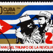 Postage stamp Cuba 1984 Castro and Che Guevara — Stock Photo #46457659