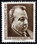 Postage stamp Italy 1966 Benedetto Croce, Philosopher — Stock Photo