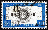 Postage stamp Italy 1962 Pacinotti's Dynamo — Stock Photo