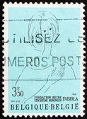 Postage stamp Belgium 1970 Queen Fabiola — Stock Photo