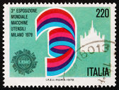 Postage stamp Italy 1979 Dome of Milan, Exhibition Emblem — Stock Photo