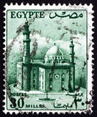 Postage stamp Egypt 1953 Mosque of Sultan Hassan — Stock Photo