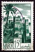 Znaczek maroko 1947 ouarzazat dzielnicy — Zdjęcie stockowe