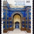 Постер, плакат: Postage stamp Germany 2013 Ishtar Gate Babylon