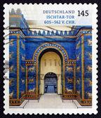 Postage stamp Germany 2013 Ishtar Gate, Babylon — Stock Photo