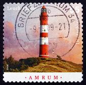 Postage stamp Germany 2008 Amrum, Lighthouse — Stock Photo