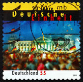 Postage stamp Germany 2010 Celebration of German Unity in Berlin — Foto Stock