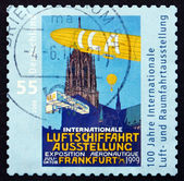 Postage stamp Germany 2009 International Aerospace Exhibition — Zdjęcie stockowe