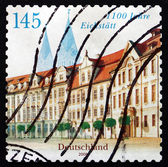 Postage stamp Germany 2008 Residence Square, Eichstatt — Stockfoto