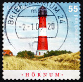 Postage stamp Germany 2008 Hornum, Sylt, Lighthouse — Stockfoto