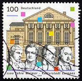 Postage stamp Germany 1999 Weimar, 1999 European City of Culture — Stock Photo