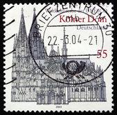 Posta pulu 2003 almanya köln katedrali — Stok fotoğraf