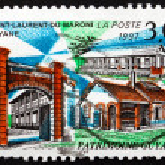 Постер, плакат: Postage stamp France 1997 Saint Laurent du Maroni French Guiana