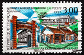 Postage stamp France 1997 Saint-Laurent-du-Maroni, French Guiana — Stock Photo