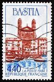 Postage stamp France 1994 City of Bastia — Stock Photo