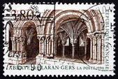 Postage stamp France 1990 Flaran Abbey, Gers — Foto de Stock