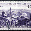 Postage stamp France 1951 Observatory, Pic du Midi — Stock Photo