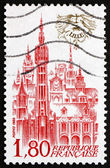 Postage stamp France 1982 View of Lille, France — Stock Photo