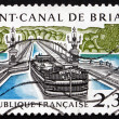 Postage stamp France 1990 Briare Aqueduct — Stock Photo #47227899