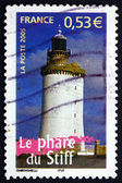 Postage stamp France 2005 Lighthouse of the Stiff — Stock Photo
