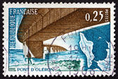 Postage stamp France 1966 Oleron Bridge — Stock Photo