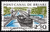 Postage stamp France 1990 Briare Aqueduct — Stock Photo