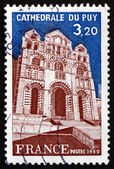 Postage stamp France 1980 Puy Cathedral — Stock Photo