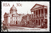 Postage stamp South Africa 1986 Legislative Assembly Building, P — Stock Photo