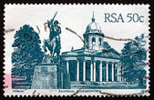 Postage stamp South Africa 1986 Raadsaal, Bloemfontein — Stock Photo