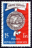 Postage stamp France 1951 Seal of Paris — Stock Photo