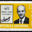 Postage stamp Argentina 1976 Luis F. Leloir, Physician — Stock Photo #47481253