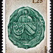 Постер, плакат: Postage stamp France 1977 Arms of Burgundy