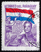 Postage stamp Paraguay 1978 Jose Felix Estigarribia, President — Stock Photo