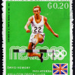 Postage stamp Paraguay 1969 David Hemery, England — Stock Photo
