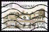 Postage stamp France 1983 View of Jarnac, Charente Department — Foto de Stock