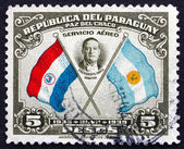Postage stamp Paraguay 1939 President Roberto Maria Ortiz, Chile — Stock Photo