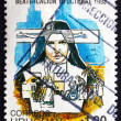 Postage stamp Uruguay 1993 Mother Francesca Maria Rubatto — Stock Photo #48644931