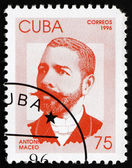 Postage stamp Cuba 1996 Antonio Maceo, Revolutionary — Stock Photo
