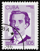 Postage stamp Cuba 1996 Ignacio Agramonte, Cuban Revolutionary — Stock Photo