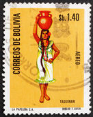 Postage stamp Bolivia 1972 Taquirari, Folk Dance — Stock Photo