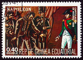 Postage stamp Equatorial Guinea 1972 Napoleon Bonaparte in Spain — Stock Photo