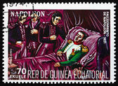 Postage stamp Equatorial Guinea 1972 Death of Napoleon — Stock Photo