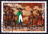 Postage stamp Equatorial Guinea 1972 Battle of Austerlitz — Stock Photo