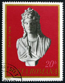 Postage stamp Romania 1974 Isis, First Century A.D. — Stock Photo