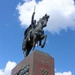 Monument of king Tomislav — Stock Photo #49289533