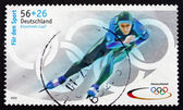 Postage stamp Germany 2002 Speed Skating — Stock Photo