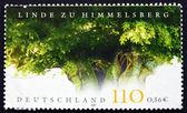 почтовая марка германии 2001 himmelsberg липа — Стоковое фото