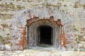 Entrance into old fortress — Stock Photo