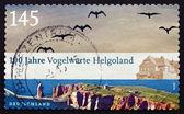 Postage stamp Germany 2010 Bird Observatory Helgoland — Foto Stock
