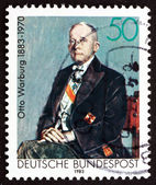 Postage stamp Germany 1983 Otto Warburg, Nobel Laureate — Stock Photo